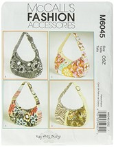 McCall's Patterns M6045 Bags, One Size Only - $7.83