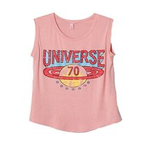 Saucy Printing [UNIVERSE] Modal Cotton Tank Tops Soft Camisole(One Size L)PINK