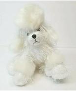 "Ganz Webkinz White Poodle Plush Stuffed Animal 8"" Dog Puppy - $14.52"