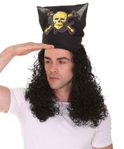 Captain Pirate Curly Wig HM-170 - $30.85+
