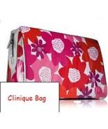Clinique Primrose Floral Laminate Large Cosmetic Bag - $13.85