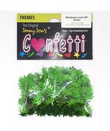 "Confetti Marijuana Leaf 3/8"" Green - Retail Pack #9713 Free SHIPPING - $5.69"