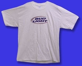 BUD LIGHT - GENERIC LOGO BEER, ALE, T-SHIRT / SZ. XL - $11.34