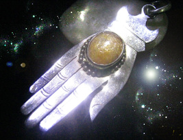 HAUNTED NECKLACE ALEXANDRIA'S MAGICK IS AT HAND MAGICK TOUCH OOAK MAGICKAL - $9,007.77
