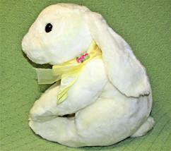 "Commonwealth BUNNY Lop Eared White Rabbit LARGE 15"" Plush Stuffed Animal... - $23.38"