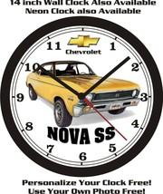 1971 CHEVROLET NOVA SS WALL CLOCK-FREE USA SHIP - $28.70+