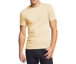 NEW MENS ALFANI CREW NECK LEMON HEATHER UNDERSHIRT T SHIRT TEE  XXL - $9.99