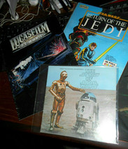 Star Wars Items (3) Lucasfilm Fan Club, Story of Star Wars, + Jedi Color... - $16.78