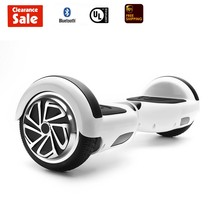 "GlareWheel Self balancing Electric scooter Hoverboard 6.5""White - $99.00"