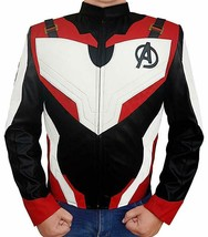 Superhero Leather Jacket for A.V.E.N.G.E.R.S. Endgame Fans - $119.99+