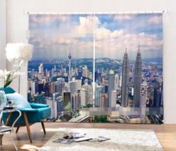 3D Modern City057Blockout Photo Curtain Printing Curtain Drapes Fabric Window UK - $145.49+