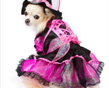 Shiny pink witch dog costume thumb155 crop
