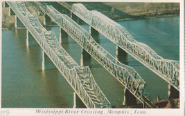 "Mississippi River Crossing Memphis Tennessee 4""X 6"" Post Card - $2.00"