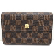 Louis Vuitton Damier Portofeuil Alexandra N63067 Wallet Tri-Fold Used Ve... - $671.09