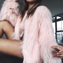 Winter Thick Warm Faux Fur Women Coat Outerwear - $65.00