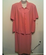 WILLOW RIDGE ~ Women's Plus 18W (Fits 1X -2X) Sleeveless & Jacket 2pc Dr... - $25.72