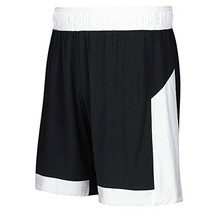 Adidas Womens Commander 15 Basketball Short L Black-White - $579,03 MXN