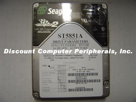 850MB ST5851A 3.5IN IDE Drive Rare ST5851A Seagate Tested Good Our Drive... - $19.55