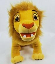 "Disney The Lion King Ready to Roar Simba 11"" Talking Plush Tested & Works - $29.03"