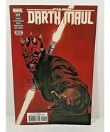 MARVEL COMICS STAR WARS DARTH MAUL #1 (2017) BONUS DIGITAL CONTENT VF/NM - $13.09