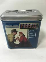 Fossil America's Favorite Classic Genuine Authentic Watch Tin Box 7B - $14.95