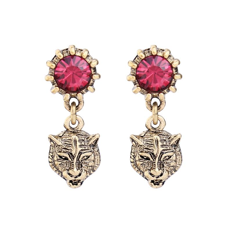 Earrings for Women Animal Design Bijoux Short Vintage Earrings Indian Jewelry