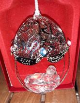 Lenox Millennium Baby 2000 Pave Jewels Ornament w/box MINT - $4.90