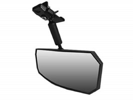 New Spike Rear View Mirror Profit Roll Bar Mount for Polaris image 1