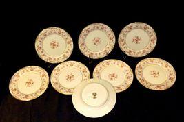 Noritake China (8 – Dessert Plates) Charmaine 5506 AA20-2360C Vintage image 3