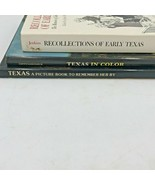 Recollections of Early Texas Jenkins Landmarks Picture Book History Lot BK0 - $18.95