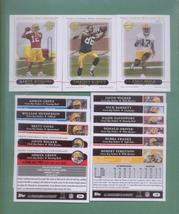 2005 Topps Green Bay Packers Football 14 Card Team Set - $30.00