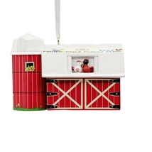 2018 Hallmark Fisher-Price Little People Barn - $10.50