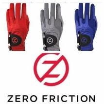 Zero Friction Herren Cabretta Leder Elite Golfhandschuh, Rot, Weiß, Grau... - $25.47+