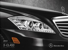 2013 Mercedes-Benz S-CLASS brochure catalog 350 BlueTEC 400 HYBRID 550 600 - $12.00