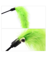 1 Pcs Pet Interactive Toy Random Color Stick Feather For Cats Dogs All Y... - $21.77