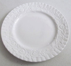Royal Albert Old Country Roses Dinner Plate Embossed White Bone China Ma... - $24.99