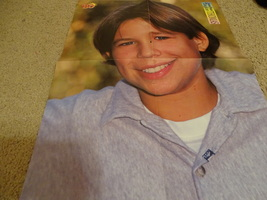 Jonathan Taylor Thomas Take That teen magazine poster clipping dressed in black