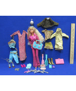 Dancing Party Disco Barbie Doll with Clothes & Accessories - $16.82