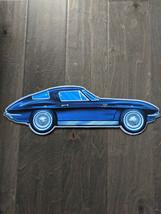 "18"" ASTON MARTIN Classic Car 3d cutout retro USA STEEL plate display ad Sign - $73.50"