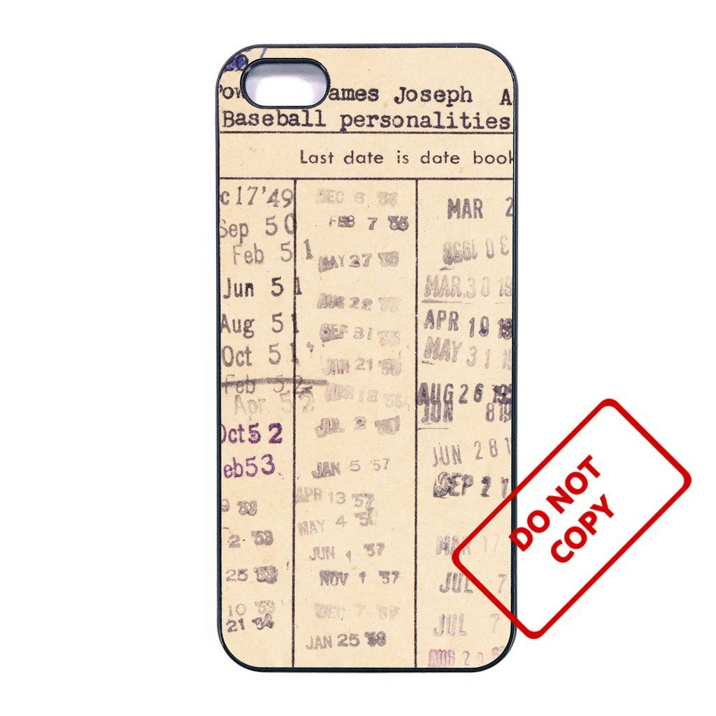 Primary image for Vintage Library CardLG G2 case Customized Premium plastic phone case,