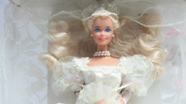 1989 Mattel Collector Edition Wedding Fantasy Barbie Doll And 1991 Dream... - $39.95