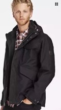 TIMBERLAND MEN'S RAGGED MOUNTAIN 3-IN-1 WATERPROOF FIELD JACKET A1RXK SZ:L - $145.12