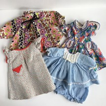 Vintage Doll Dresses Lot Pussy Cat by Madame Alexander Blue Gingham Hand... - $28.98