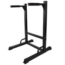 AYNEFY Power Tower, Multi Function Durable Steel Pull Up Bar Dip Station Stand K