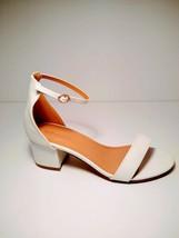 TOP Moda Darcie-1 Women's Fashion Ankle Strap Chunky Low Heel Dress Sand... - $28.80