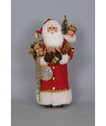 Karen Didion Santa Claus red Christmas greetings CC22-02 - $197.00