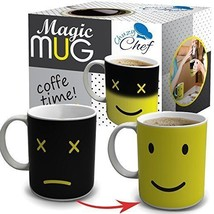 Cool Color Changing Magic Mug - Funny Coffee & Tea Unique Heat Changing ... - $11.32