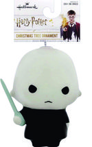 Hallmark Harry Potter Lord Voldemort Decoupage Shatterproof Ornament New w Tag image 4