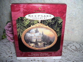 HALLMARK ORNAMENT THOMAS KINKADE #1 SERIES MIB - $17.75