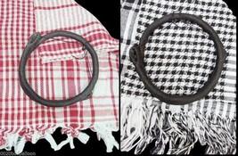 scarf shawl Keffiyeh Kafiya shemagh desert palestine + Igal set Arafat arab - $9.95